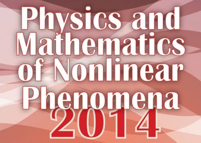 Materiale Informativo per Physics and Mathematics of Nonlinear Phenomena 2014
