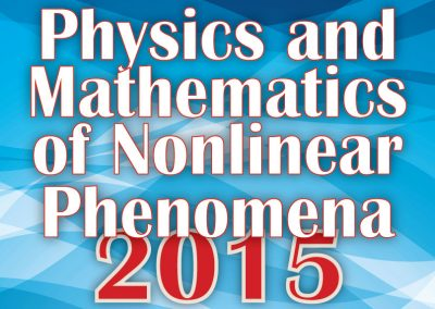 Materiale Informativo per Physics and Mathematics of Nonlinear Phenomena 2015