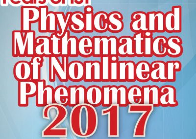 Materiale Informativo per Physics and Mathematics of Nonlinear Phenomena 2017