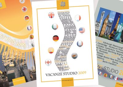 Materiale informativo – Progetti catalogo Language Team 2009